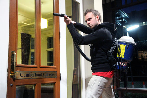Cumberland  College Terrorised by Ghost