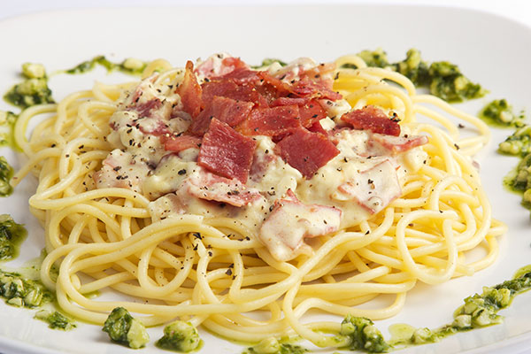 Cheat's Carbonara