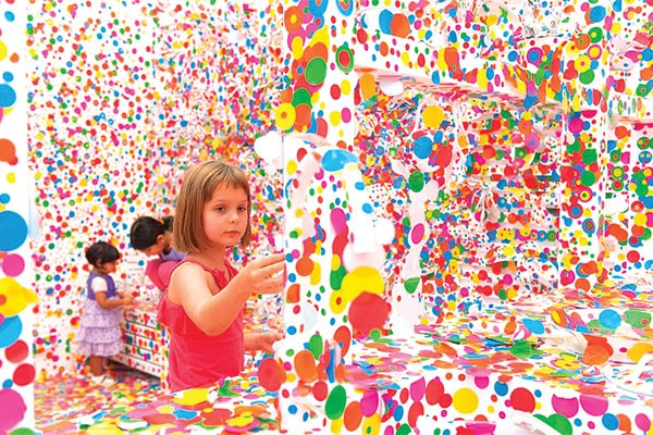 The Obliteration Room Yayoi Kusama Culture Critic Te