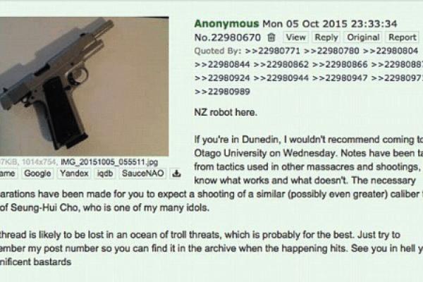 Police Fail to Catch 4chan Shitposter   News   Critic Te Arohi