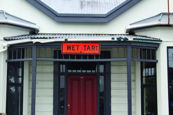 What's up with Otago students and stealing road signs?