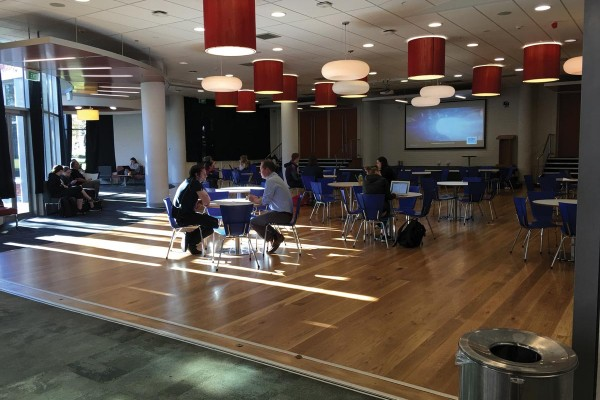 Main Common Room Could Be Revamped into Student Bar