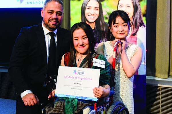 OUSA International Officer Wins at NZ Youth Awards