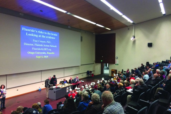 I Got Blazed and Went to the Anti-Fluoride Lecture: a Review