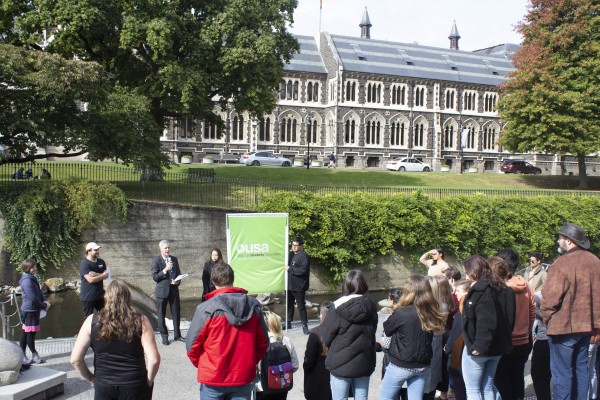 Otago Staff and Students Rally For Postgrad Allowances