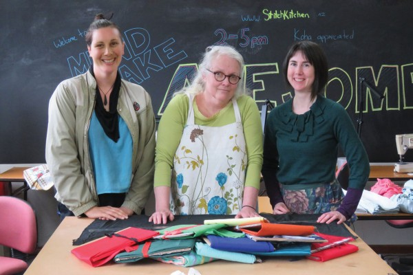 Stitch Kitchen: a Local Solution to a Global Problem