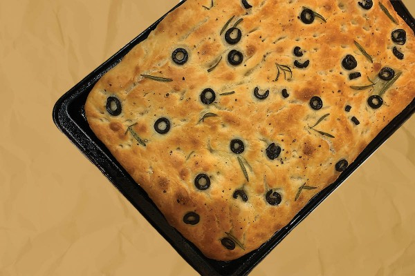 Bone Apple Teeth: Focaccia
