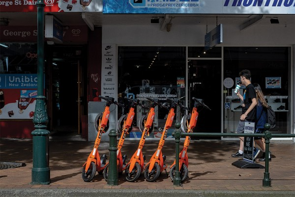 Neuron Scooters Hit Dunedin Streets